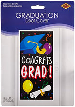 Congrats Grad Door Cover Party Accessory (1 count) (1/Pkg)