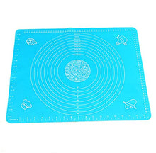 Panda Superstore Baking Tools Kitchenware Silicone Pad Kneading Mat Blue