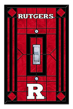 Rutgers Art Glass Lightswitch Cover