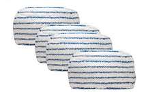 4 Black & Decker SMP20 Steam-Mop Pads - Washable Microfiber Pads - Reusable Microfiber Steam Mop Pad