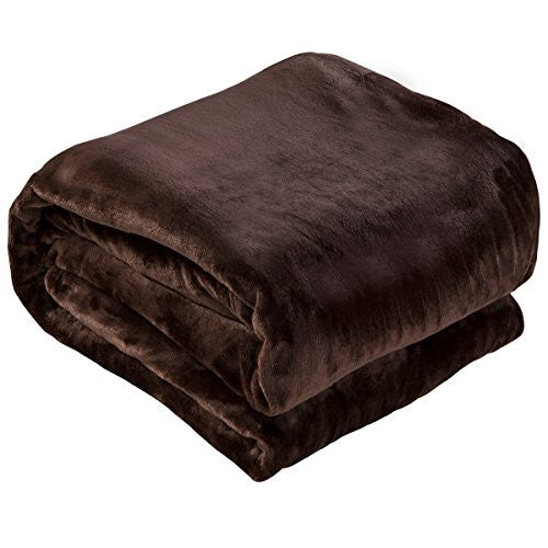 Qbedding Inc. Luxury Collection Microplush Flannel Fleece Blanket | Ultra Soft 380 Gsm Lightweight A