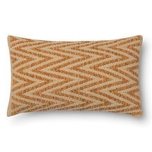 Alexander Home Woven Chevron Feather and Down Filled or Polyester Filled 12 x 22 Throw Pillow or Pil