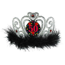50th Birthday Flashing Tiara