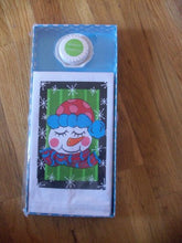 Snowman Hand Towel and Soap Gift Set