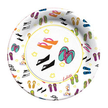C.R. Gibson 8 Count Decorative Paper Lunch/Dessert Plates, By Lolita, Easy Clean Up, Measures 8