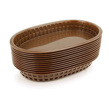 New Star Foodservice 44010 Fast Food Baskets, 10.5 x 7 Inch, Set of 36, Brown