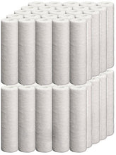 Universal 50 Pack 5-micron 10-Inch by 2.5-Inch Sediment Filter Cartridges, 10