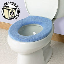 Soft N Comfy Toilet Seat Cover   Sky Blue