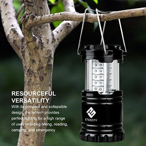 Etekcity Portable Led Camping Lantern And Flashlight With Aa Batteries, Survival Light For Camping,