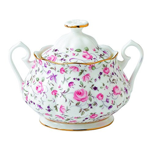 Royal Albert 8704025823 New Country Roses Rose Confetti Teaset, 3 Piece