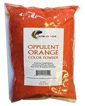 Colors Of Love Orange Holi Color Powder   1 Pound Bag   Ideal For Events, Bath Bombs, Youth Group Co