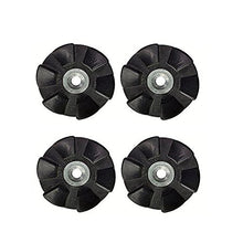 Replacement Black Rubber Gear Spare Parts for Nutribullet - 4 Pack
