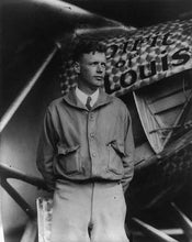 Charles Lindbergh Spirt of St. Louis Photo Great Americans Photos 8x10