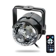 StarLight Mini Light Show Projector With Moving, Multi-Color Stage Lights (With Remote)