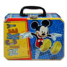 Disney Junior Mickey Mouse Rectangle Tin Box With Plastic Handle