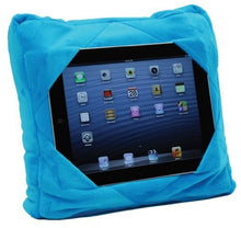 Gogo Pillow   3 In 1 Travel Pillow, Neck Pillow, Tablet Holder   Blue
