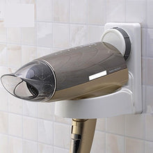 The Bath Mart Rotating Wall Mounted Lock Suction Cup Hair Dryer Holder