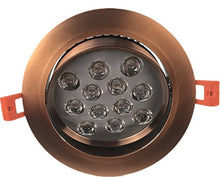 Pertop 12W Dimmable CREE Recessed LED Lighting Fixture, Recessed Downlight, Warm White