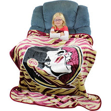 College Covers Florida State Seminoles Raschel Throw Blanket, 50