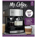 Image of Mr. Coffee Espresso And Cappuccino Maker | Cafãƒâ© Barista , Silver