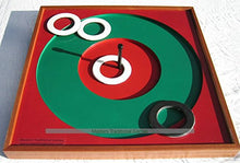 Masters Pub Quoits Board With 4 Rubber Pub Quoits