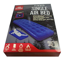 Boyz Toys Gone Outdoors Single Airbed - Blue