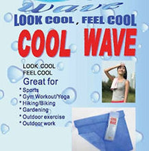 Cool Wave Sports Towel, Assorted Color, 16x23