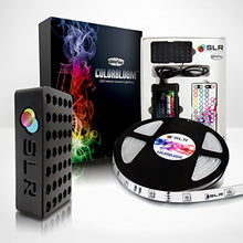 COLORBLOOM 150 Multi-Color Changing Starter LED Strip Kit - 16.4ft 5M Flexible/Waterproof w/Power Supply and Remote Control for Christmas, Holiday, and Home Lighting