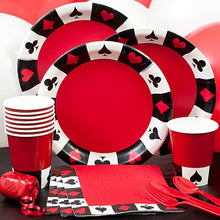 Vegas Casino Card Suit Party Pack Party Supplies Decorations Plates Napkins Cups Tableware