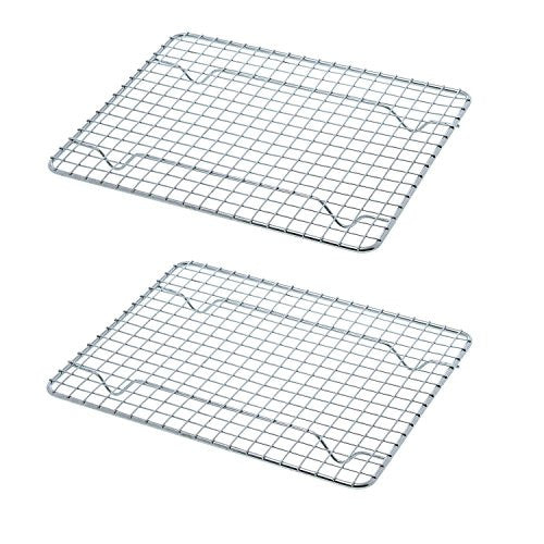 Goson Kitchen Stainless Steel Heavy Duty Metal Wire Cooling, Cooking, Baking Rack For Baking Sheet,