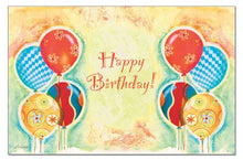 Counterart Paper 36-Pack Placemat, Birthday Balloons