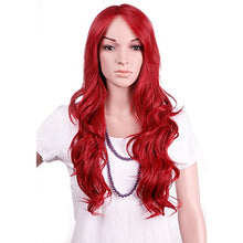 28'' / 70cm Heat Resistant Synthetic Wig Japanese Kanekalon Fiber Full Wig with Bangs Long Curly Wav