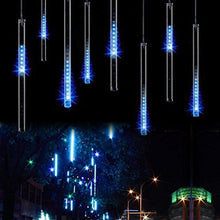 Sur Light Led Falling Rain Lights With 30cm 8 Tube 144 Le Ds, Meteor Shower Light, Falling Rain Drop