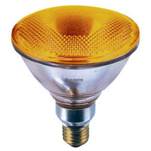 Bulbrite H90PAR38A 120V 90W PAR38 Halogen Light, Amber