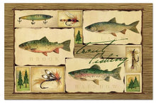 Counterart Paper Placemat, Lake House, 24-Pack
