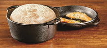 Lodge L8 Dd3 Cast Iron Double Dutch Oven, 5 Quart