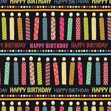 3-Count Premium Wrapping Paper Rolls, Say It's Your Birthday