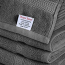 Image of Utopia Towels 8 Piece Towel Set, Grey, 2 Bath Towels, 2 Hand Towels, And 4 Washcloths