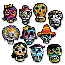 Beistle Day of The Dead Cutouts, , 4.75
