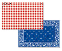 Counterart Wipe-clean Reversible Placemats - Set of 4 - Picnic Guests (Ants)