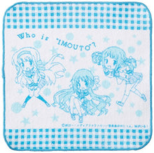 1 person, my sister! Hand towel are in this (japan import)
