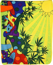 Aes Wholesale (12) Weed Mushrooms 420 50x60 Polar Fleece Blanket Throw Plush