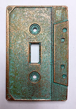 Cassette Tape Light Switch Cover (Aged Patina)