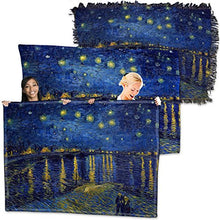 Vincent Van Gogh, Starry Night Over The Rhone - Throw Blanket / Tapestry Wall Hanging (Plush Fleece, 60
