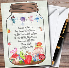 Bugs In a Jar Personalized Baby Shower Invitations
