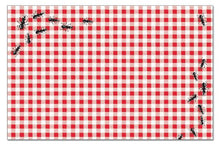 Counterart Paper Placemat, Picnic Guests, 24-Pack
