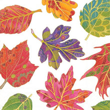 Caspari - Autumn Fall Party Set Napkins (Pack of 20), Multicolor
