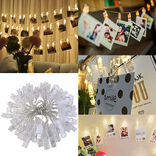 LEDMOMO 40 LED Photo Clip String Lights Christmas String Lights Indoor/Outdoor,USB Powered,String Li