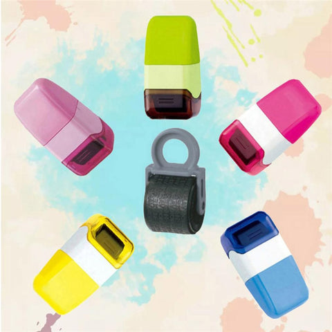 1Pcs Guard Your ID Roller Stamp
