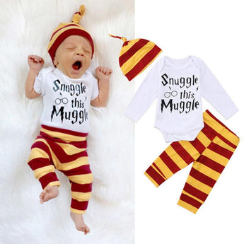 Snuggle this Muggle Harry Potter 3pc Baby Set